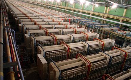Цех обогащения урана на электрохимическом заводе в Красноярском крае, 1996 год. Фото из архива ИТАР-ТАСС/ Виталий Иванов