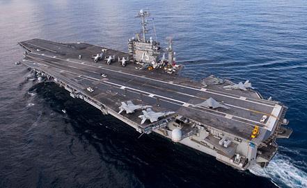"Авианосец ""Гарри Трумэн"", фото EPA/ИТАР-ТАСС"