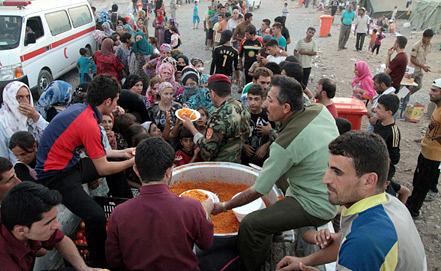 Лагерь сирийских беженцев в Ираке. Фото EPA/ИТАР-ТАСС