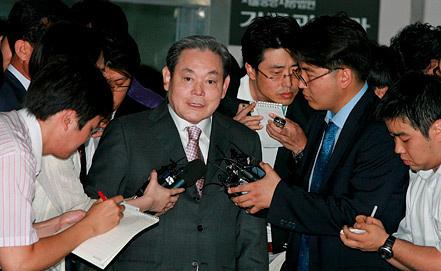Ли Кун Хи. Фото EPA/ИТАР-ТАСС
