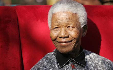 Нельсон Мандела, фото из архива EPA/ИТАР-ТАСС