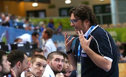 Главный тренер сборной Греции Андреа Тринкьери   Фото EPA/ИТАР-ТАСС