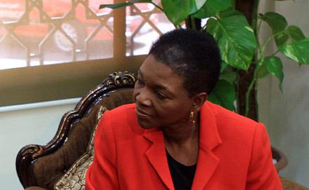 Заместитель генерального секретаря ООН по гуманитарным вопросам Валери Амос. Фото EPA/ ИТАР-ТАСС