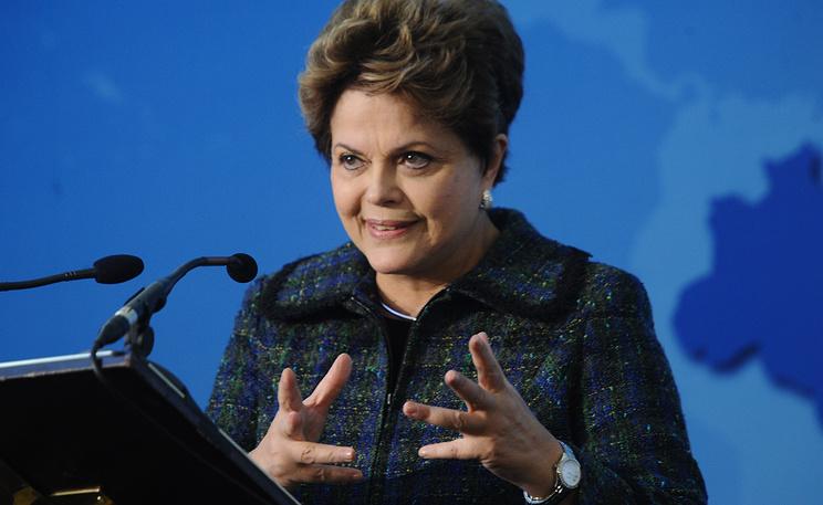 Президент Бразилии Дилма Роуссефф. Фото из архива ИТАР-ТАСС/ Зураб Джавахадзе