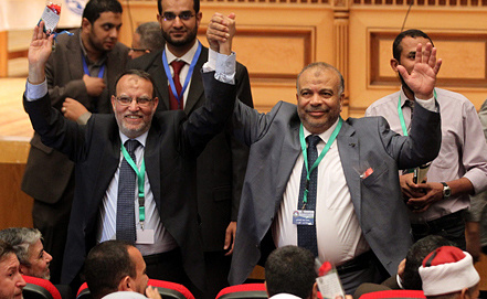 Фото ИТАР-ТАСС/EPA/Khaled Elfiqi