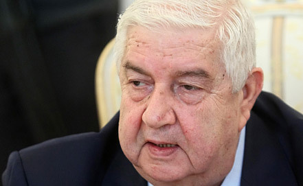 Валид Муаллем, фото EPA/SERGEI CHIRIKOV