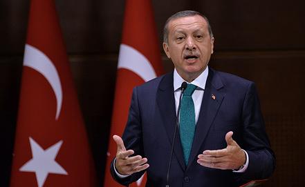 Премьер-министр Тайип Эрдоган. Фото  AP