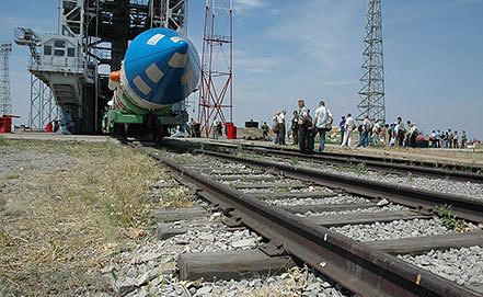 """Ракета-носитель """"Космос-3М"""" на полигоне Капустин Яр.Фото ИТАР-ТАСС/ Евгений Кармаев"""