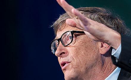 Билл Гейтс. Фото AP Photo/Mark Lennihan