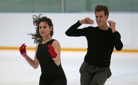 Елена Ильиных и Никита Кацалапов. Фото ИТАР-ТАСС/Михаил Метцель