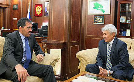 Фото пресс-службы главы и правительства Ингушетии