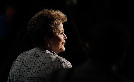 Президент Бразилии Дилма Роуссефф. Фото AP Photo/ Eraldo Peres