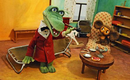 Куклы из мультфильма «Чебурашка и крокодил Гена» на выставке киностудии. Фото из архива ИТАР-ТАСС/ Станислав Красильников