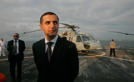 Давид Кезерашвили, 2008 год. Фото AP Photo/Efrem Lukatsky