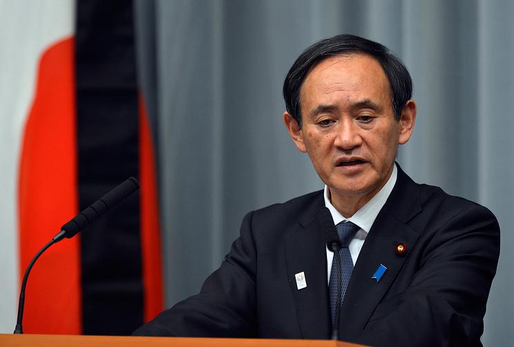Ёсихидэ Суга, фото EPA/FRANCK ROBICHON