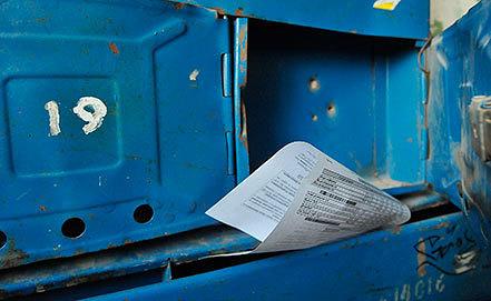Квитанция об оплате коммунальных услуг. Фото ИТАР-ТАСС/ Дмитрий Рогулин