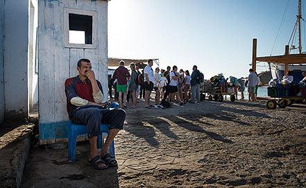 Отдых в Египте. Фото ИТАР-ТАСС/ Анатолий Струнин