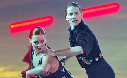 Марина Анисина и Гвендаль Пейзера. Фото ИТАР-ТАСС/Александр Куров