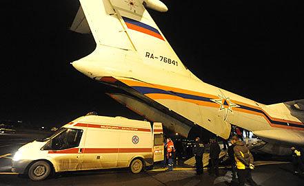 Отправка пострадавших в результате теракта в Волгограде в московские клиники. Фото ИТАР-ТАСС/ Рогулин Дмитрий