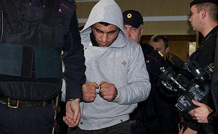 Арест Орхана Зейналова. Фото AP Photo/Alexander Zemlianichenko