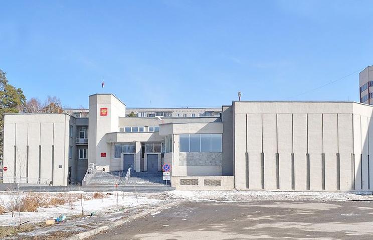 Здание Верхнепышминского суда