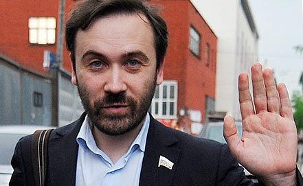 Илья Пономарев. Фото ИТАР-ТАСС/ Антон Новодережкин