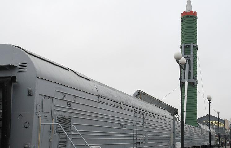 Боевой железнодорожный ракетный комплекс (БЖРК)