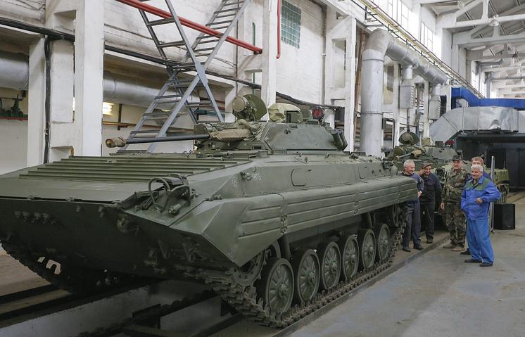 Ремонт военной техники Украины в Житомире