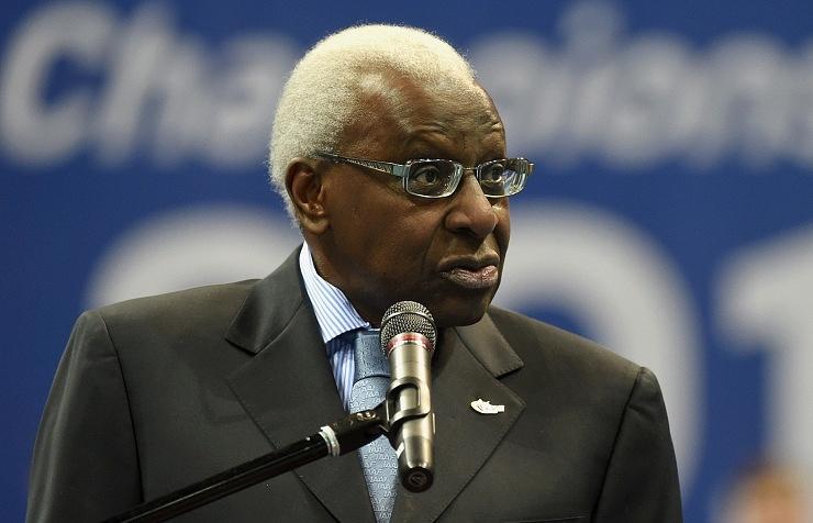 Президент IAAF Ламин Диак