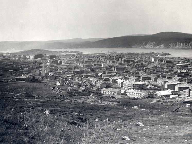 Панорама Мурманска, 1934 год
