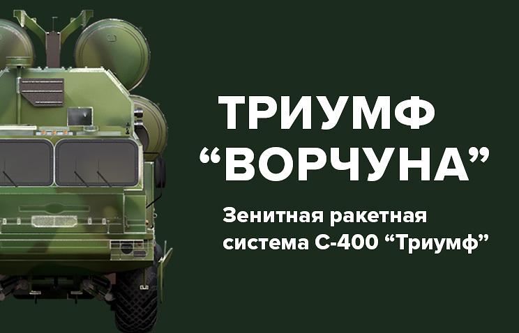 ВКС России получат три новых полка С-400 вэтом году