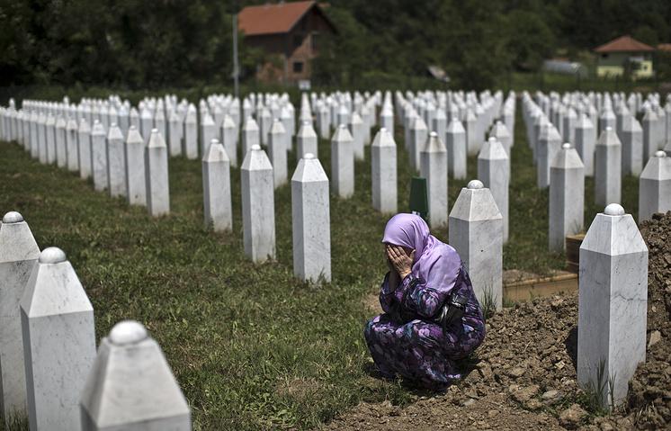 Мемориальный комплекс в Сребренице