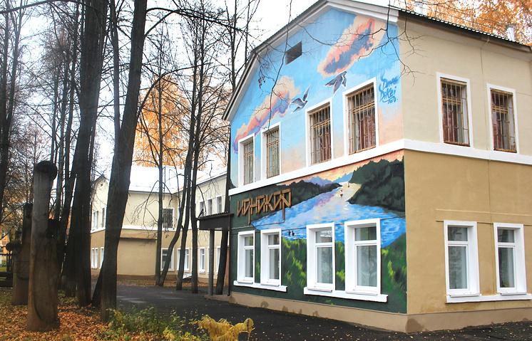 Здание музея-заповедника