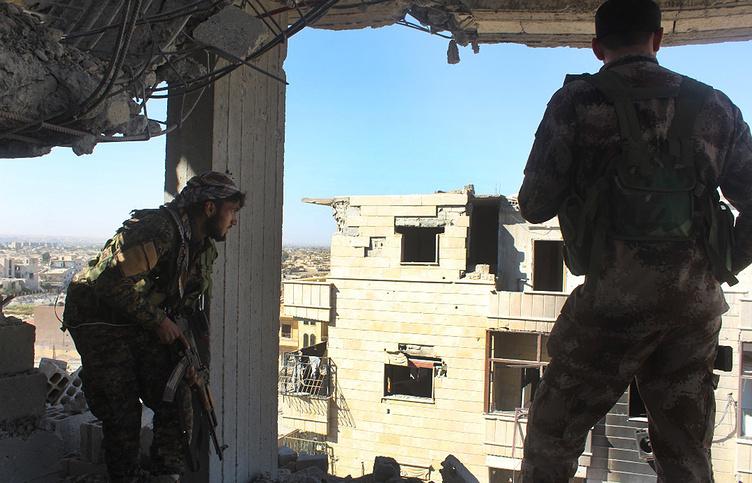 В ходе операции по освобождению Ракки